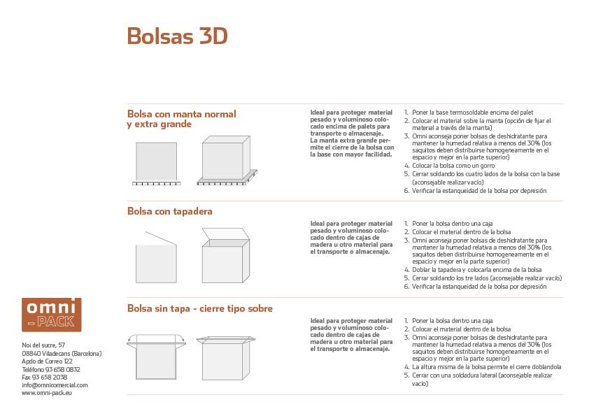 Ficha Bolsas 3D