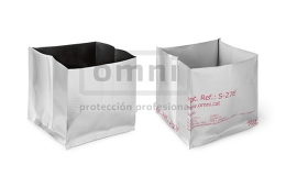 Bolsas 3D de aluminio para embalaje