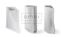 Bolsas 2D de aluminio para embalaje