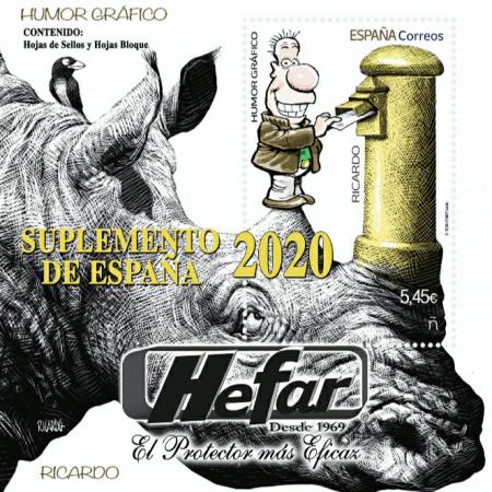 Suplemento  Hefar de España 2020