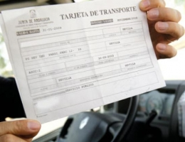 Solicitud de Tarjeta de Transportes y otros trámites.