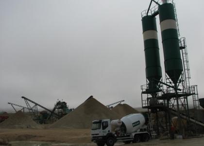 Fabricación y venta de hormigón