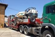 Transporte de Maquinaria con góndola