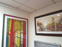 Sistemas de exhibición de cuadros