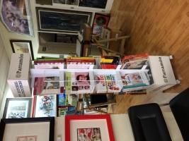 Libros de arte, pintura y diseño.