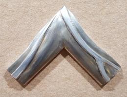 Moldura plata