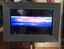 Televisión enmarcada